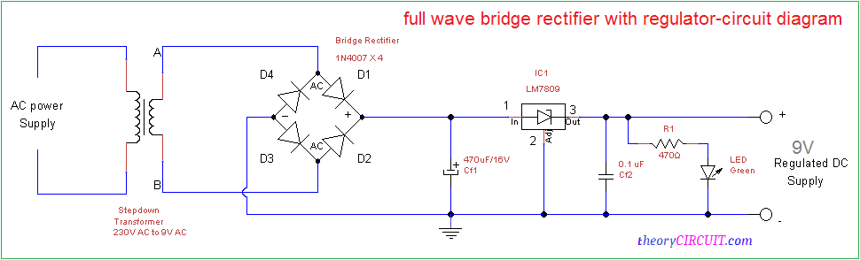 rectifier circuit dc motor moreover full wave bridge rectifier