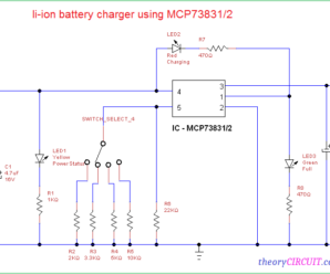 Li-Ion Battery Charger Circuit