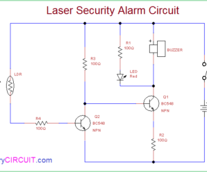 Laser Security Alarm Circuit