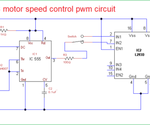 Pwm Motor Controller With Forward And Reverse Ic Schematics - Wiring