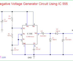 Negative Voltage Generator Circuit