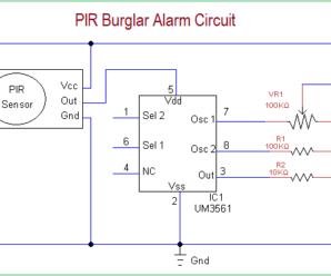 Pleasing Simple Burglar Alarm Circuit Basic Electronics Wiring Diagram Wiring Digital Resources Dylitashwinbiharinl