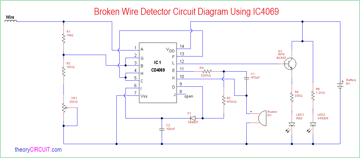 Circuit Diagram Why Is There A Break In The Circuit The Variable Dc