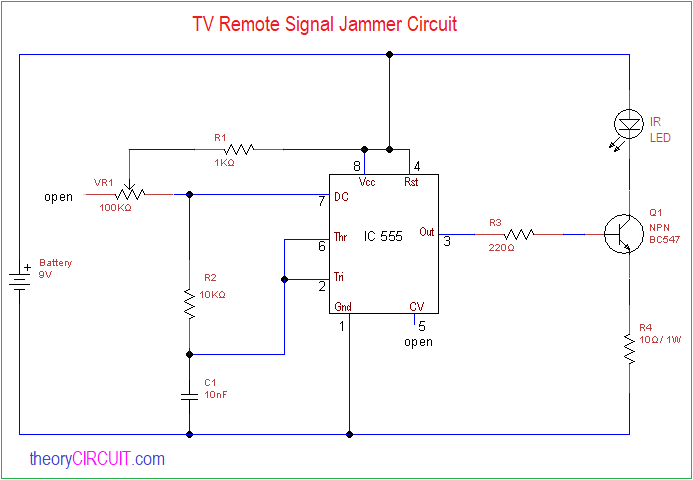 Cell phone jammer circuit - Can't connect WiFi on Mobile