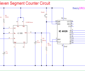 Simple Seven Segment Counter Circuit