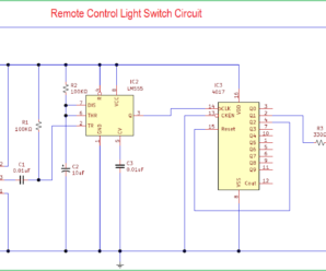 IR Remote Control Light Switch