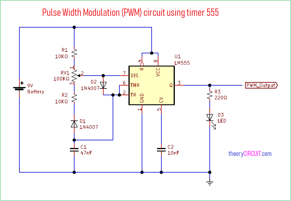 pwm schematic diagram user guide of wiring diagram 555 timer astable motor control wiring schematic symbol