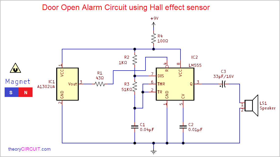 Door Open Diagram | Wiring Diagram Hall Effect Device Wiring Diagram on