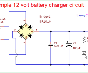 Simple Battery Charger Circuit Diagram Table Wiring Diagram